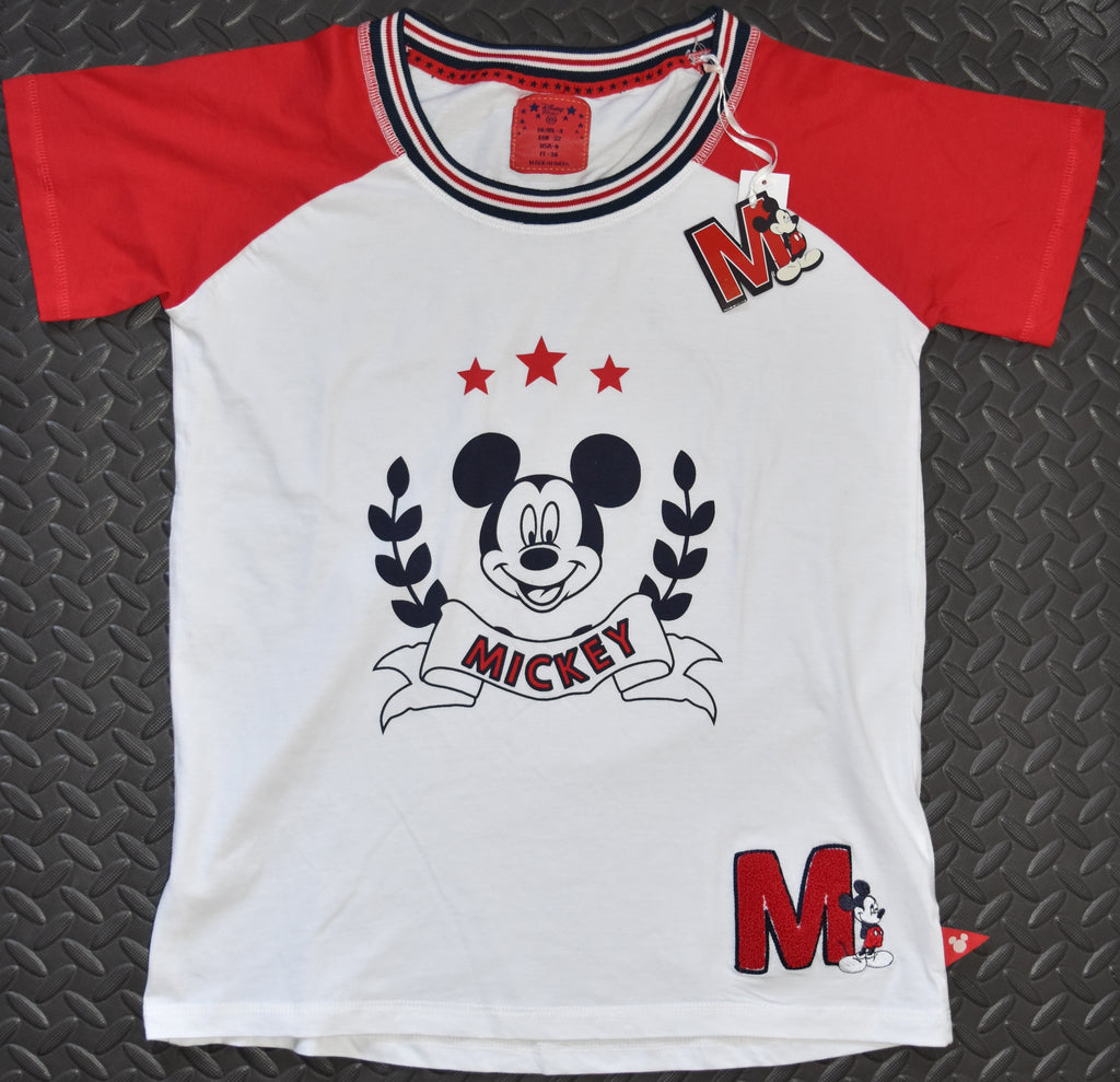 MICKEY MOUSE PRIMARK T Shirt CLASSIC OFFICIAL DISNEY Womens UK sizes 4 to 12