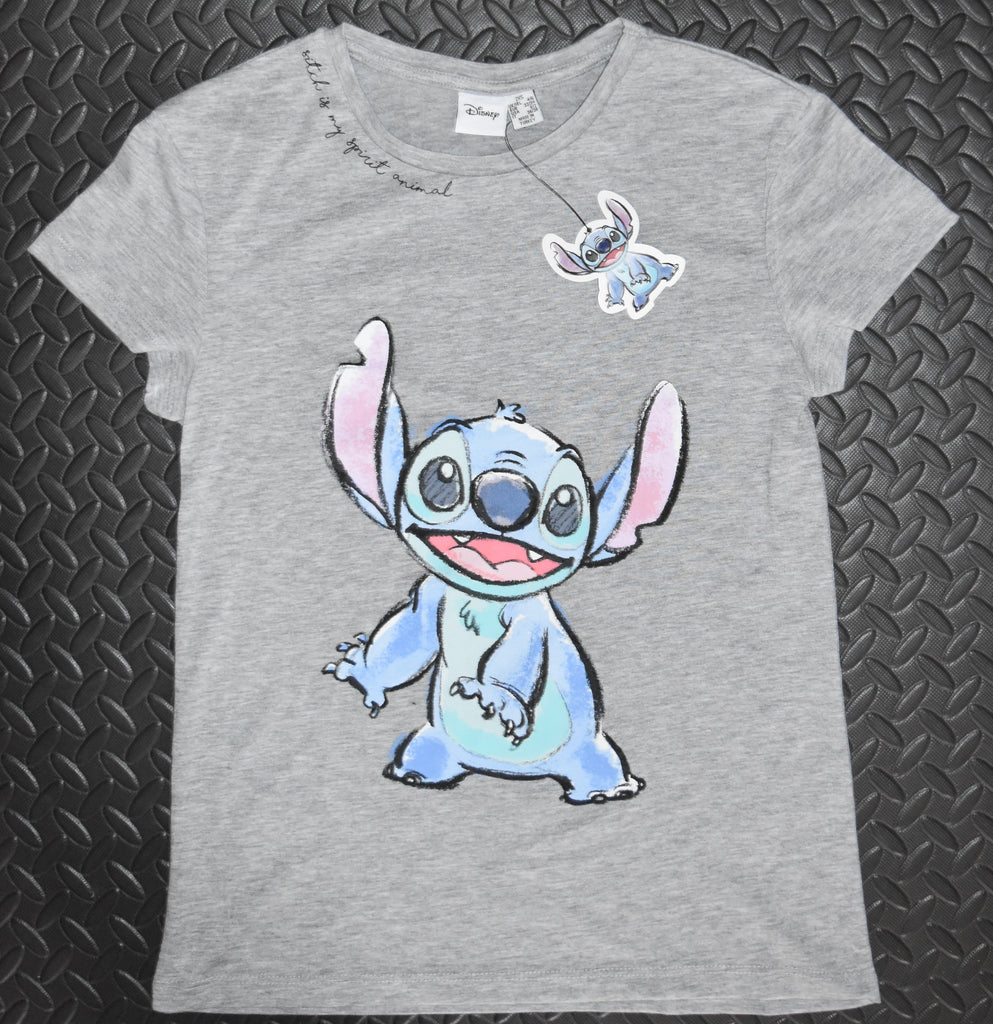 LILO AND STITCH T SHIRT STITCH SPIRIT ANIMAL PRIMARK DISNEY Ladies Sizes 6 to 20