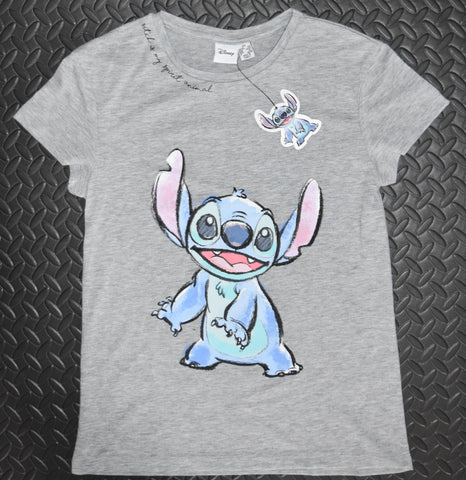 LILO AND STITCH T SHIRT STITCH SPIRIT ANIMAL PRIMARK DISNEY Womens Ladies UK Sizes 4 - 24