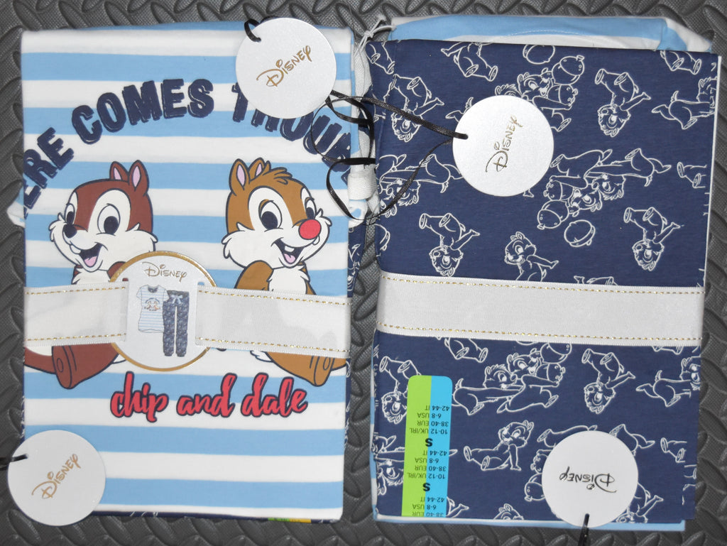 CHIP AND DALE PJ SET PRIMARK DISNEY Womens Ladies UK Sizes 6 - 14
