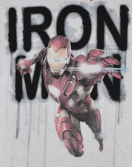 PRIMARK MARVEL T SHIRT IRON MAN MENS OFFICIAL SIZES M - L