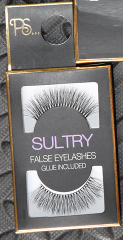 Sultry False Eyelashes Falsies Primark Eye Lashes PS