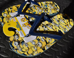 PRIMARK Minions Flip Flops Multi OFFICIAL MENS Sizes 6 - 11 NEW - Click. Buy. Love. - 2