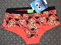ELMO KNICKERS SESAME STREET WOMEN LADIES SIZES UK 6-20