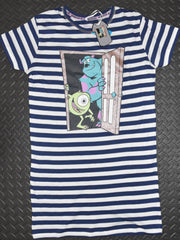 MONSTERS INC PRIMARK NIGHTIE T-Shirt DISNEY MIKE SULLEY Ladies UK Size 4 - 24