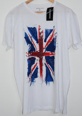 Primark Union Jack British Flag MENS T SHIRT GB UK Sizes XL - XXXL