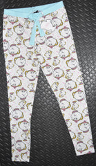 Beauty & Beast PJ Bottoms PRIMARK Mrs Potts Chip LEGGINGS UK Sizes 4 to 20