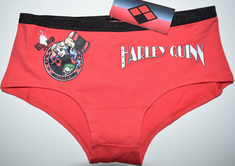 HARLEY QUINN KNICKERS DC COMICS UNDERWEAR Panties WOMENS LADIES UK SIZE 6 - 20