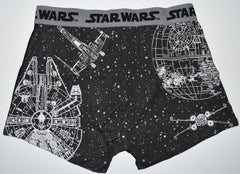 STAR WARS PANTS Mens BLACK Boxers Underwear Sizes M - XXL