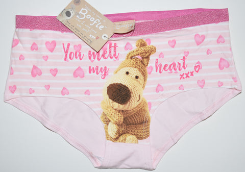 BOOFLE KNICKERS Panties UNDERWEAR TEDDY BEAR WOMENS LADIES UK SIZE 6 - 20