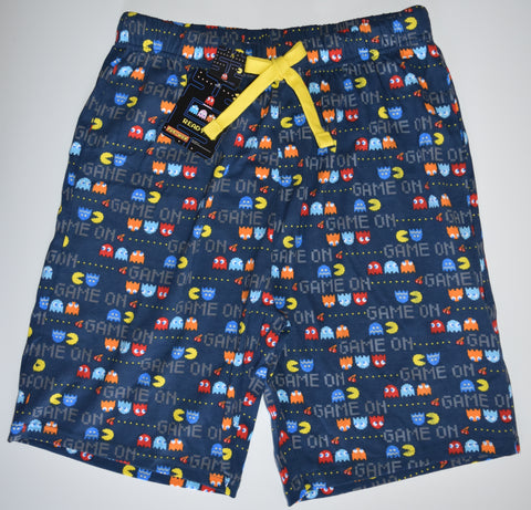 Pac man Mens SHORTS HIPSTER KNEE LENGTH LOUNGE PANTS 100% COTTON XL