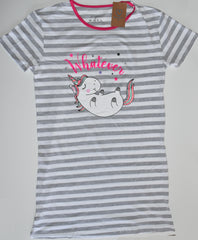 UNICORN PRIMARK NIGHTIE T-Shirt PJ WHATEVER Womens Ladies UK Sizes 4 - 24
