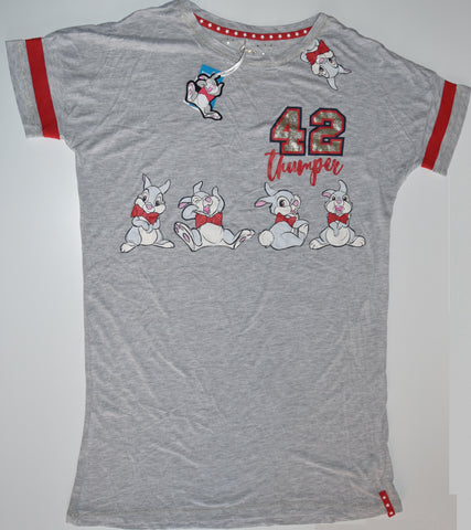 THUMPER PRIMARK NIGHTIE T-Shirt DISNEY 42 Womens Ladies UK Sizes 4 - 12