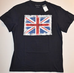 Union Jack British Flag MENS T SHIRT Blue Primark GB UK Sizes M - XXXL