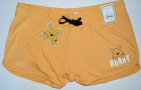 WINNIE THE POOH SHORTS PRIMARK DISNEY Womens Ladies UK Sizes 4 - 24