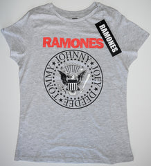 RAMONES T-Shirt CAP SLEEVE PRIMARK Womens Ladies UK Sizes 4 - 24