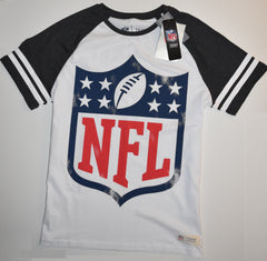 NFL T SHIRT JERSEY MENS AMERICAN FOOTBALL TU UK Sizes White M-XXL