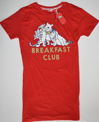 WINNIE THE POOH NIGHTIE PJ SHIRT PRIMARK BREAKFAST 100% COTTON UK Sizes 4 to 24
