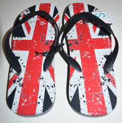 UNION JACK PRIMARK Flip Flops MENS SANDALS THONGS BRITISH FLAG UK Sizes 6 - 11