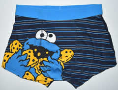 COOKIE MONSTER PANTS Mens Boxers SESAME STREET Underwear Sizes M - XXL