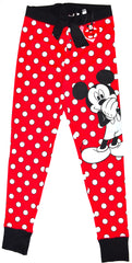 MICKEY MOUSE PRIMARK PJ BOTTOMS DISNEY LEGGINGS Womens Ladies UK Sizes 4-20
