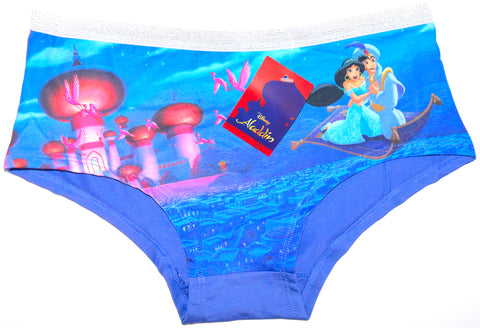 ALADDIN KNICKERS Panties DISNEY UNDERWEAR LADIES JASIMINE UK Size 6-20