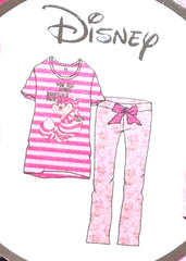CHESHIRE CAT PJ SET ALICE IN WONDERLAND PRIMARK Ladies PYJAMAS UK Sizes 4 - 20