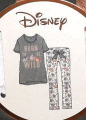 JUNGLE BOOK PJ SET BORN TO BE WILD PRIMARK Ladies PYJAMAS UK Sizes 10 to 16