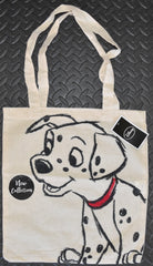 101 Dalmatians Canvas Tote Bag 100% Cotton Disney Shopper Shopping Shoulder BNWT