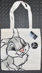 Thumper Canvas Tote Bag 100% Cotton Bambi Disney Shopper Shopping Shoulder BNWT