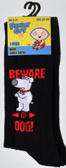 Family Guy Men's Socks Stewie Peter Brian UK Sizes 6-11 (EU 39 - 45) NEW - Click. Buy. Love. - 2