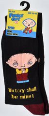Family Guy Men's Socks Stewie Peter Brian UK Sizes 6-11 (EU 39 - 45) NEW - Click. Buy. Love. - 4