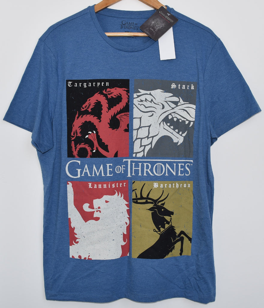 Game of Thrones T Shirt Men's GoTs House Banner Sigil NEW UK Sizes S - XXXL - Click. Buy. Love. - 1