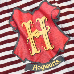 Primark HARRY POTTER Shorts HOGWARTS CREST Burgundy Stripe UK SIZES 4-20 NEW