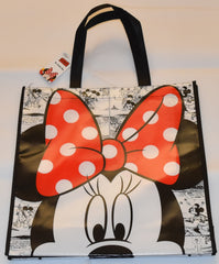 Minnie Mouse Disney TOTE SHOPPER SHOPPING SHOULDER BAG WIPE CLEAN New