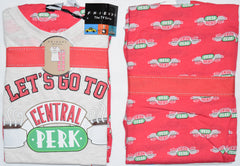 PRIMARK FRIENDS PJ Central Perk Pyjamas F.R.I.E.N.D.S Red UK Sizes 6 - 20 NEW