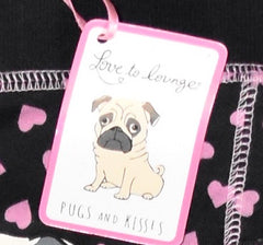 PRIMARK Pug Dog PJ BOTTOMS Sweats Ladies Womens Leggings UK Sizes 18 to 20