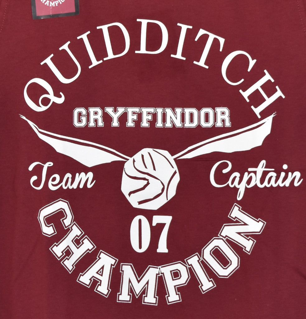 e1f358ed ... Primark Harry Potter T Shirt Gryffindor Quidditch Womens Ladies UK Size  4-20 NEW