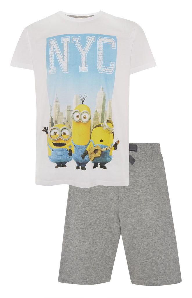 Primark Minions NYC T-Shirt & Shorts Minions Movie Sizes XS-XXXL new - Click. Buy. Love. - 1