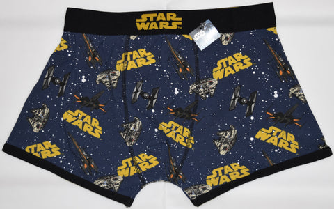Star Wars PANTS Mens HIPSTER Disney Boxer Underwear Sizes M - XL BNWT