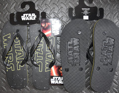 PRIMARK Star Wars Flip Flops Imprint Underneath OFFICIAL MENS Sizes 6 - 11 NEW