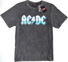AC/DC T Shirt Primark 100% Cotton Faded Oversized Rock Mens UK Sizes M to L