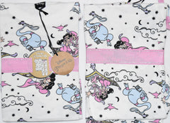 PRIMARK Aladdin Princess Jasmine PJ DISNEY Pyjamas Genie UK Sizes 4 to 8
