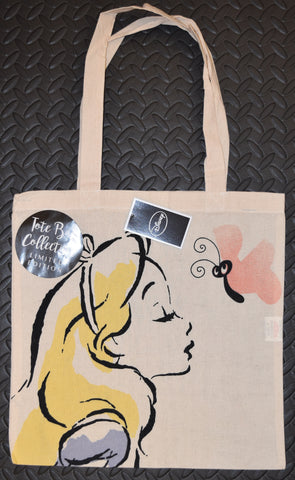 Disney Alice In Wonderland CANVAS TOTE SHOPPER SHOPPING SHOULDER BAG BNWT