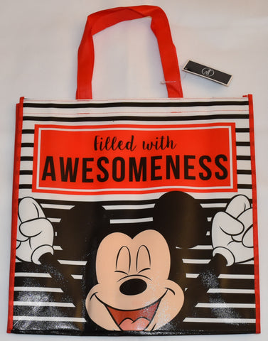 Mickey Mouse Disney TOTE BAG SHOPPER SHOPPING SHOULDER WIPE CLEAN BNWT