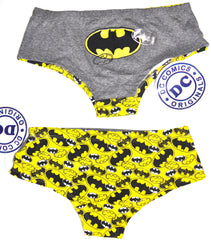 Batman Knickers Panties DC Comics Underwear Women Ladies UK Size 6 to 8