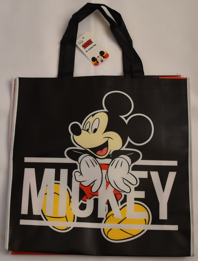 Mickey Mouse Disney TOTE BAG Black SHOPPER SHOPPING SHOULDER WIPE CLEAN BNWT
