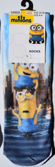 Minions Boys Socks New York Pirate Despicable Me UK Shoe Sizes 6-9 or 9-12 - Click. Buy. Love. - 2