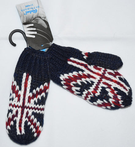 PRIMARK GLOVES Boys Kids MITTEN MITTS Union Jack UK Flag GB British Britain NEW