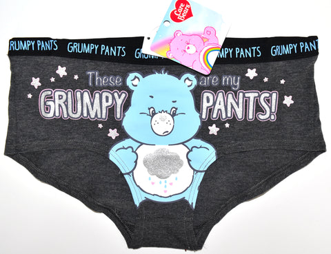 Grumpy Care Bear Knickers Panties Underwear Women Ladies UK Size 6 to 20